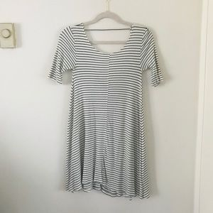 Billabong Striped Low Back Dress